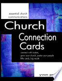 Church Connection Cards  connect with visitors  grow your church  pastor your people