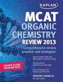 Kaplan MCAT Organic Chemistry Review Notes