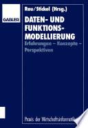 Daten- und Funktionsmodellierung