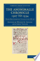 The Anonimalle Chronicle 1307 to 1334
