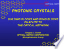 Photonic Crystals : ...