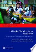 Sri Lanka Education Sector Assessment