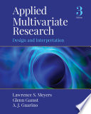 Applied Multivariate Research