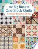 download ebook the big book of one-block quilts pdf epub