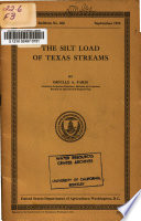 The Silt Load of Texas Streams