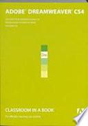 Adobe Dreamweaver Cs4 Classroom In A Book Cd