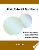 Java Tutorial Questions