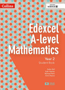 Edexcel A Level Mathematics Student Book Year 2