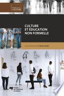 illustration du livre Culture et éducation non formelle