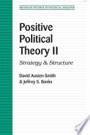 Positive Political Theory II