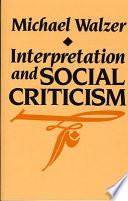 Interpretation and Social Criticism