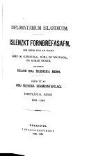 Diplomatarium islandicum: bd. 1555-1562