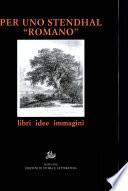 Per uno Stendhal romano