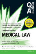 Law Express Question and Answer  Medical Law