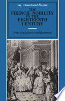 The French Nobility in the Eighteenth Century
