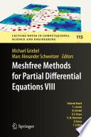 Ebook Meshfree Methods for Partial Differential Equations VIII Epub Michael Griebel,Marc Alexander Schweitzer Apps Read Mobile