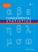 Fundamental Statistics For The Social Behavioral And Health Sciences