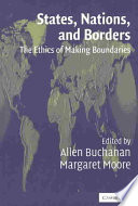States  Nations and Borders