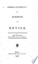 Infernal conference  or  Dialogues of devils