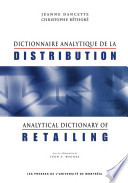 Analytical Dictionary of Retailing