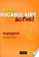 illustration Petit vocabulaire actuel espagnol