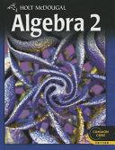 Holt McDougal Algebra Two