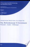 Das Reformkonzept E-Government