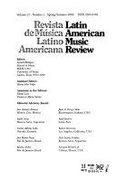 Revista de Música Latino Americana