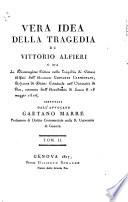 Vera idea della tragedia di Vittorio Alfieri