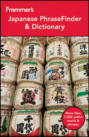 Frommer's Japanese PhraseFinder and Dictionary
