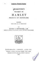 Shakspere s Tragedy of Hamlet  Prince of Denmark