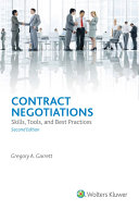 Contract Negotiations: Skills, Tools, and Best Practices