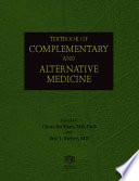 Textbook Of Complementary And Alternative Medicine : sharply in the last decade. this consumer...