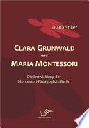 Clara Grunwald und Maria Montessori