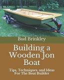 Building a Wooden Jon Boat