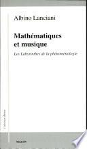 illustration Mathématiques et musique, les labyrinthes de la phénoménologie