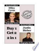 Celebrity Biographies   The Amazing Life Of Miley Cyrus and Justin Bieber   Famous Stars