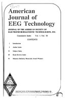 The American Journal Of Eeg Technology book