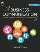 Business Communication: Essential Starategies for 21st Century Managers, 2nd Edition
