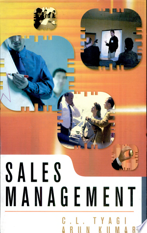 Sales Management - ISBN:9788126903115