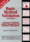 Basic Method Validation