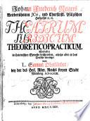 J. F. Reiger's ... Theatrum Juridicum theoreticopracticum. Ehedessen in Lateinischer Sprache beschrieben, anjetzo aber in das Teutsche übersetzet von L. S. Oberländer