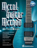 Metal Guitar Method Book