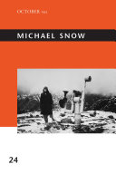 Michael Snow Book