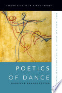 Poetics Of Dance : of dance was already seen as a path-breaking...