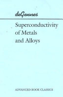 Superconductivity of Metals and Alloys