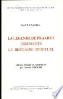 La légende de Prakriti de Paul Claudel