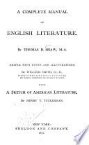 A Complete Manual of English Literature Pdf/ePub eBook