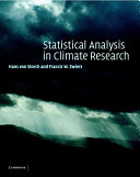 Statistical Analysis in Climate Research