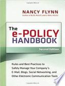 The e Policy Handbook